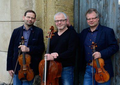 Dresdner Trio  |  Foto: Mathias Creutzinger