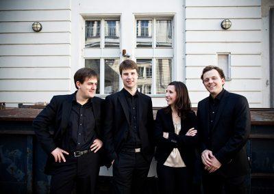 Mariani Quartett  |  Foto: Fabian Stürtz