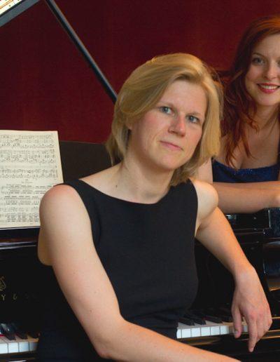 Liedduo Sylvia Rena Ziegler und Friederike Wiesner  |  Foto: Michael Sitte