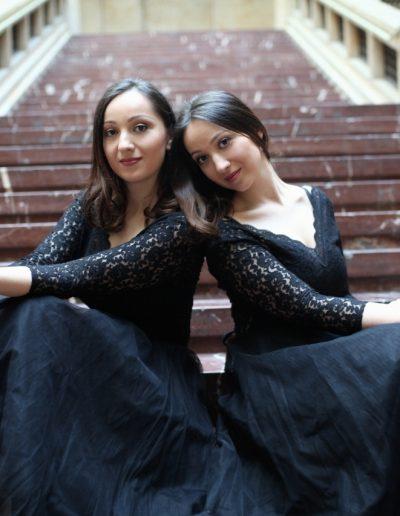 Ani& Nina,Klavierduo, Konzert am19.5.2019, Foto Andrea Seifert